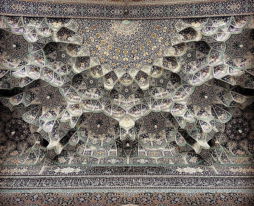 iran mosque ceilings 10