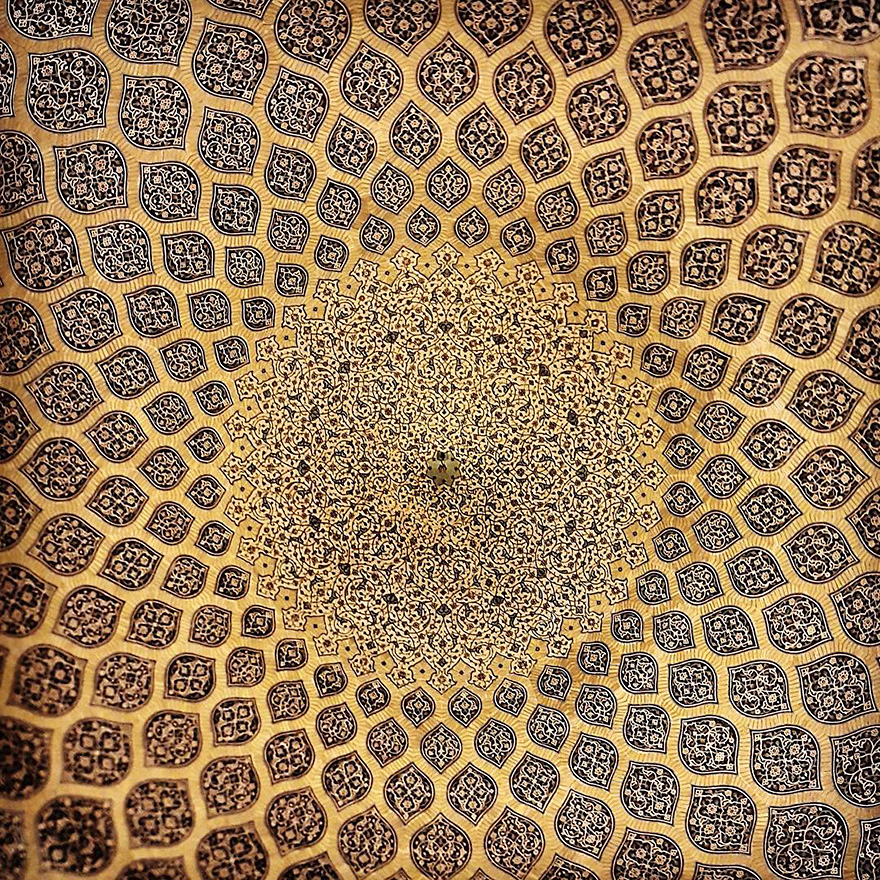 iran mosque ceilings 11