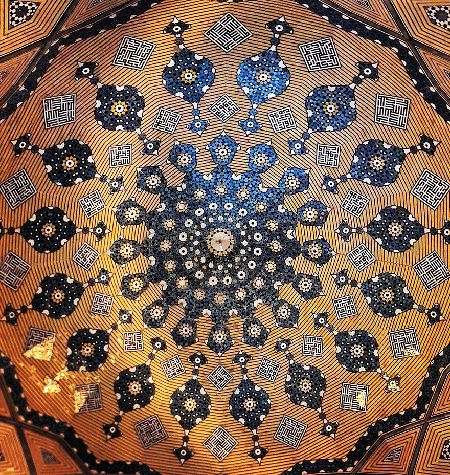 iran mosque ceilings 12