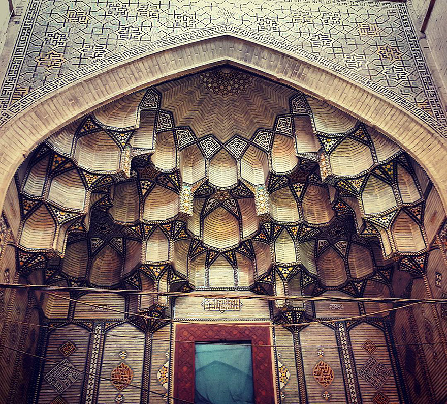 iran mosque ceilings 14