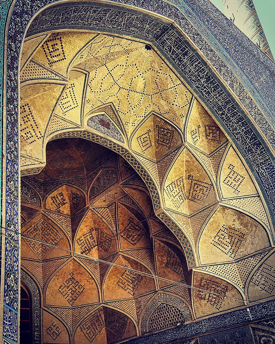 iran mosque ceilings 15