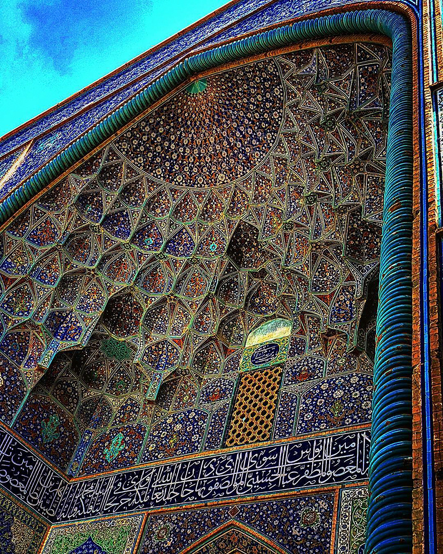 iran mosque ceilings 16