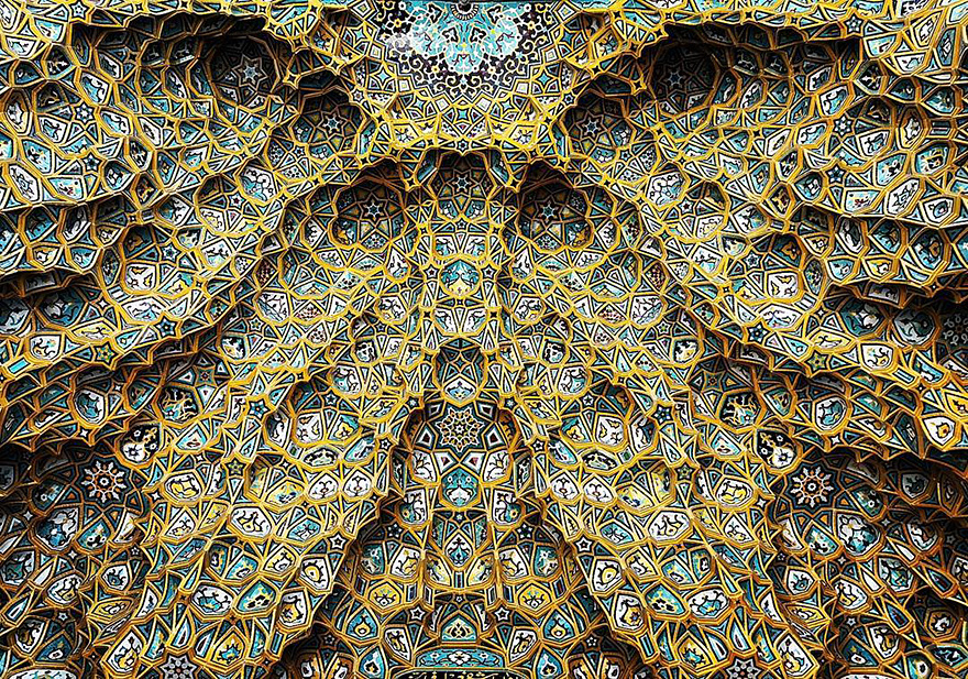 iran mosque ceilings 17