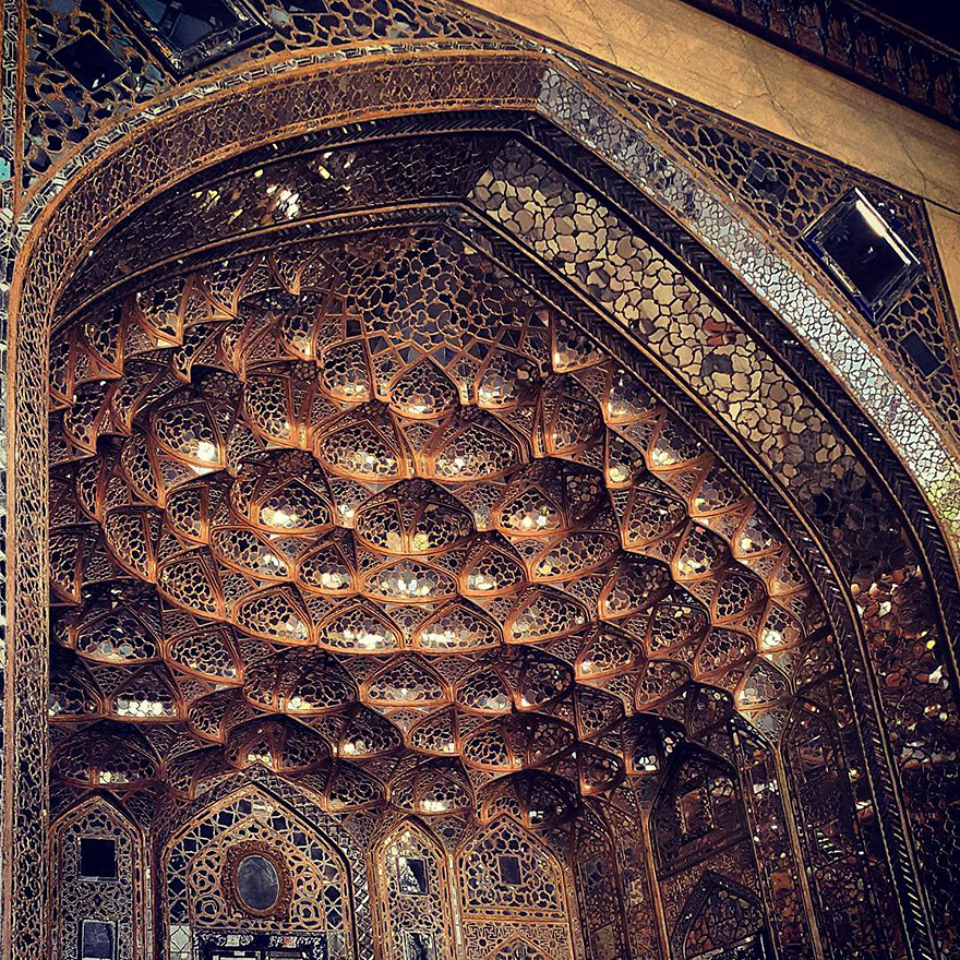 iran mosque ceilings 2