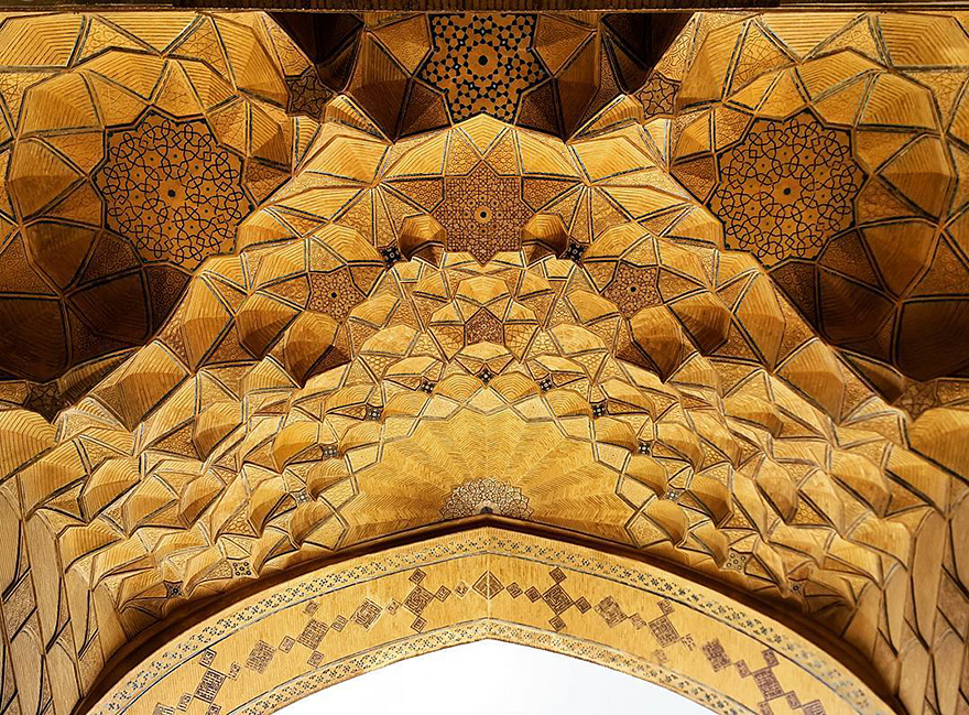 iran mosque ceilings 3