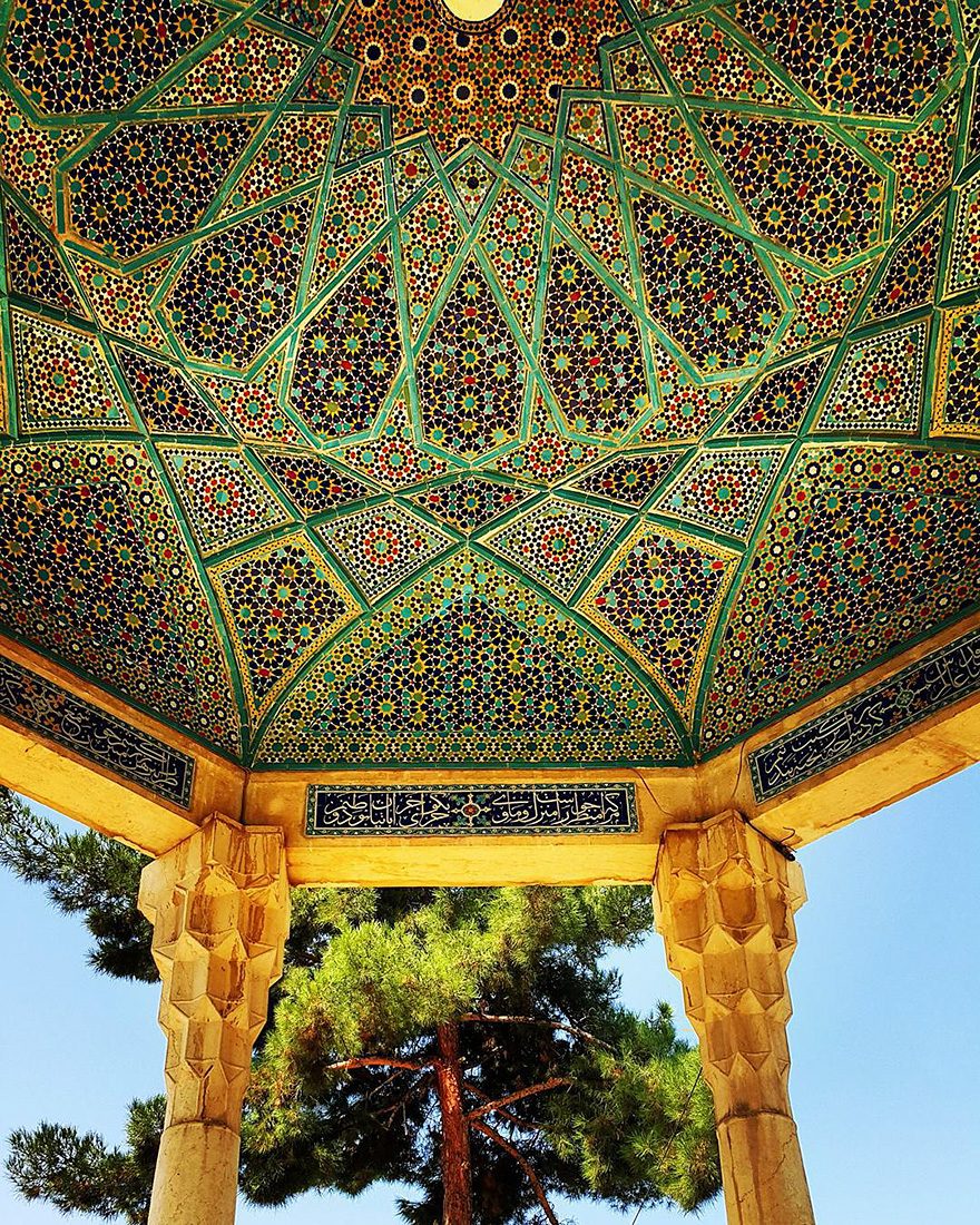 iran mosque ceilings 4