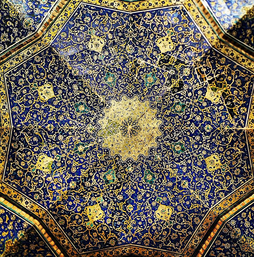 iran mosque ceilings 5