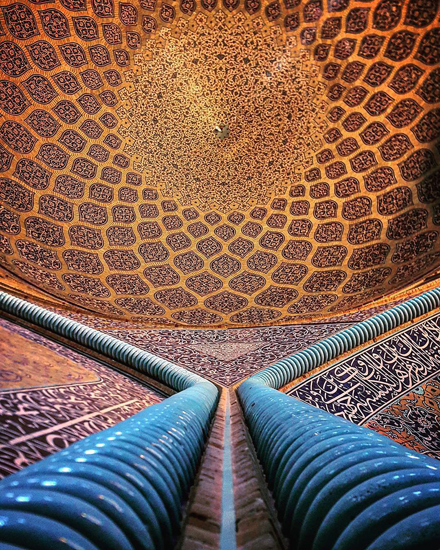 iran mosque ceilings 6