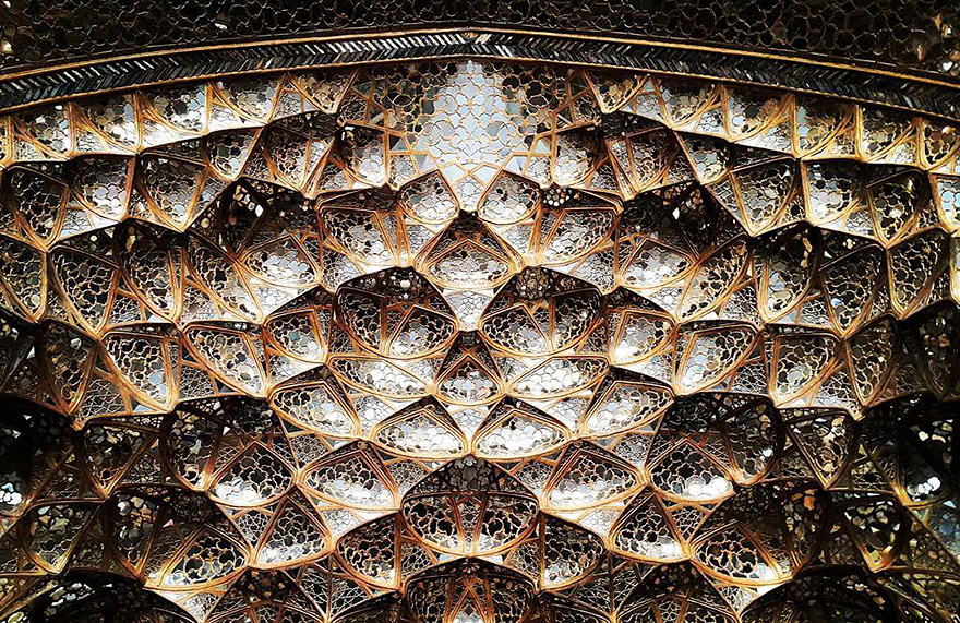 iran mosque ceilings 7