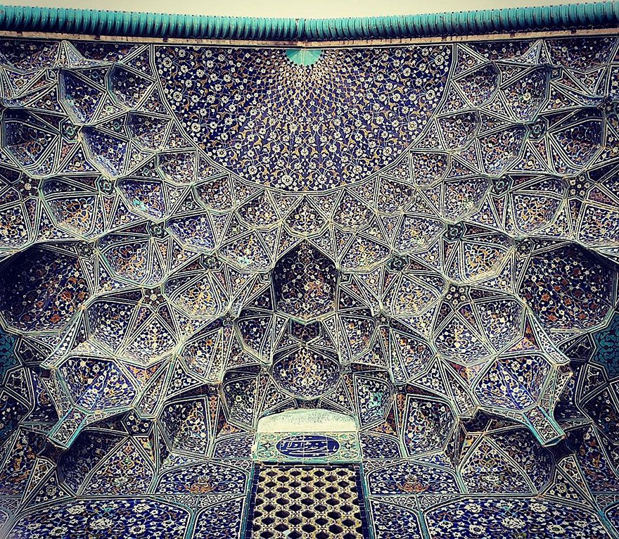 iran mosque ceilings 9